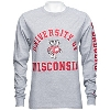 Champion University of Wisconsin Long Sleeve (Gray) 3X thumbnail
