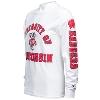 Champion University of Wisconsin Long Sleeve (White) 3XL thumbnail