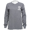 Blue 84 Women's Wisconsin Long Sleeve (Charcoal) thumbnail