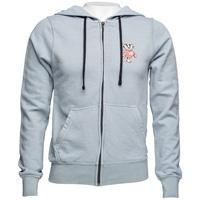 Alta Gracia Bucky Badger Full Zip Sweatshirt (Steel/Black)