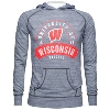 Alta Gracia Wisconsin Badgers Motion W Sweatshirt (Gray)