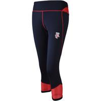 ZooZatz Women's Bucky Badger Leggings (Black/Red)