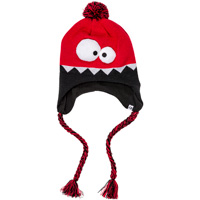'47 Brand Youth Knit Flap Hat (Red/Black)