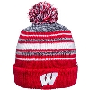 '47 Brand Youth Wisconsin Knit Hat (Red/Gray/White)