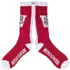 '47 Brand Vault Bucky Badger Over The Calf Sock (Red)