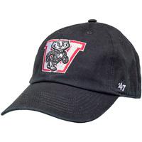 '47 Brand Bucky Badger Block W (Black)