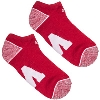 '47 Brand Block W Ankle Socks 3-Pack (Red/White/Black) thumbnail