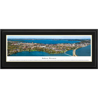 Blakeway Madison, Wisconsin Skyline Panoramic Deluxe Frame
