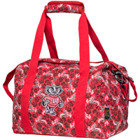 Eagles Wings Bucky Badger Mini Duffle Bag (Red)