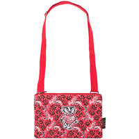 Eagles Wings Bucky Badger Cross Body Bag (Red)