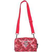 Eagles Wings Bucky Badger Cross Body Wallet Bag (Red)
