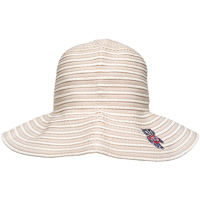 LogoFit Women's Bucky Badger Sun Hat (Tan)*