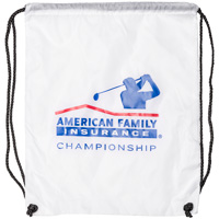BIC Graphic AmFam Insurance Championship String Bag (White)*