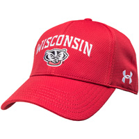 Under Armour Women's Wisconsin Bucky Badger Hat (Red)