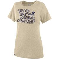 JanSport Women's AmFam Insurance Championship Tee (Oatmeal)*