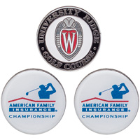 Ahead AmFam Insurance and University Ridge Ball Markers*