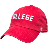'47 Brand College Adjustable Hat (Red)