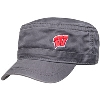 Legacy Wisconsin Motion W Military Cadet Hat (Gray)