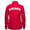 E5 Women's Rhinestone Wisconsin Badgers ¼ Zip (Red) thumbnail