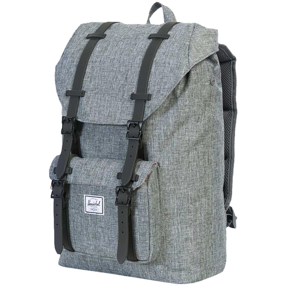 7dd00c5396f ... Herschel Little America Backpack (Light Heathered Gray) thumbnail