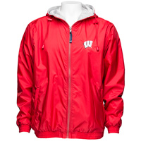 Charles River Apparel Wisconsin Jacket (Red)