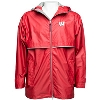 Charles River Apparel Wisconsin Rain Jacket (Red)