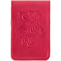 MCM Group Bucky Badger Cell Phone Wallet (Red)
