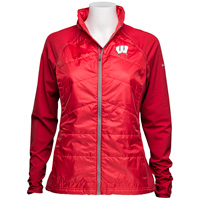 Columbia Women's Wisconsin Hybrid Jacket (Red)