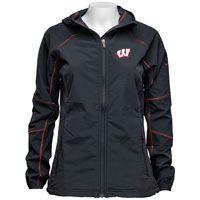 Columbia Women's Wisconsin Full Zip Softshell Jacket (Black)