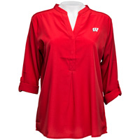 UGApparel Women's Wisconsin Classic Tunic (Red) Plus