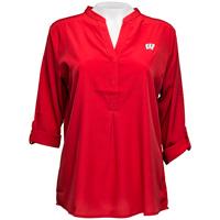 UGApparel Women's Wisconsin Classic Tunic (Red) Plus