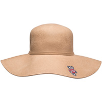 Logofit Women's Bucky Badger Felt Brim Hat (Tan)