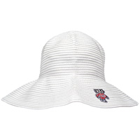 LogoFit Women's Bucky Badger Sun Hat (White)