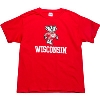 Top Promotions Youth Coming and Going Bucky T-Shirt (Red)