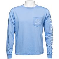 Blue 84 Bucky Badger Long Sleeve T-Shirt (Blue)
