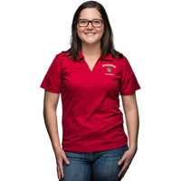 Top Promotion Women's WI Alumni Polo (Red)