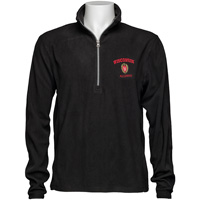 Top Promotions Wisconsin Alumni ¼ Zip Fleece (Black)
