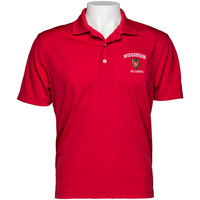 Top Promotions Wisconsin Alumni Polo (Red)
