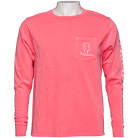 Blue 84 Bucky Badger Long Sleeve T-Shirt (Coral)