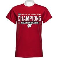 2017 Orange Bowl Champions T-Shirt (Red)*
