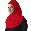 Asiya Fit Hijab (Red)