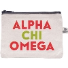 Donovan Designs Alpha Chi Omega Bittie Bag