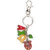 Alexandra and Company Alpha Chi Omega Charm Key Chain