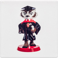 Bucky on Parade Graduation Bucky Coaster