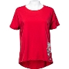 Under Armour Women's Loose Fit Wisconsin Bucky Tee (Red) *
