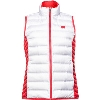 Columbia Women's Wisconsin Reversible Down Vest (White/Red)