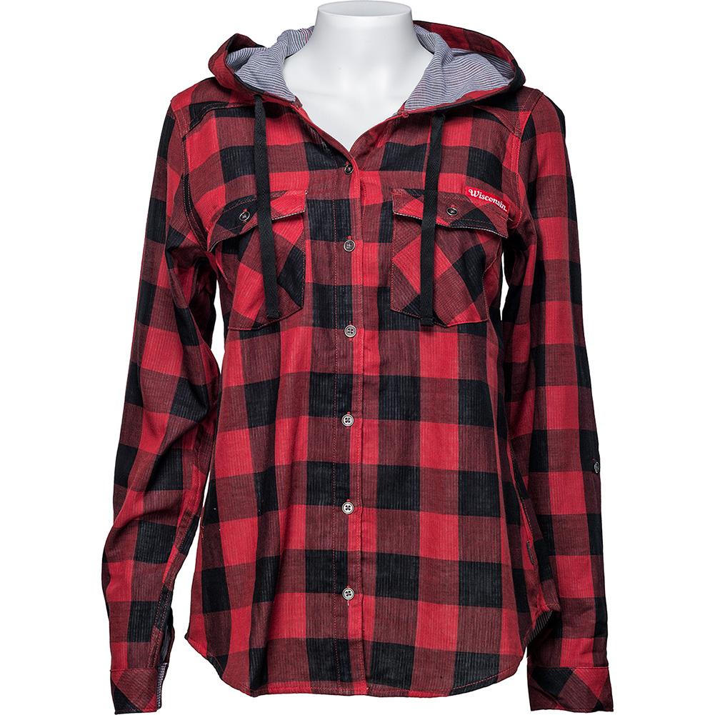 cee15ac4ffd Columbia Women s WI Buffalo Plaid Shirt (Red Black) Plus thumbnail ...