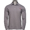 Under Armour Wisconsin Long Sleeve Polo (Gray)