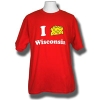 "Roberts I ""Cheese"" Wisconsin T-Shirt (Red)"