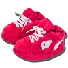 Comfy Feet Wisconsin Badger Baby's First Slippers (Red)
